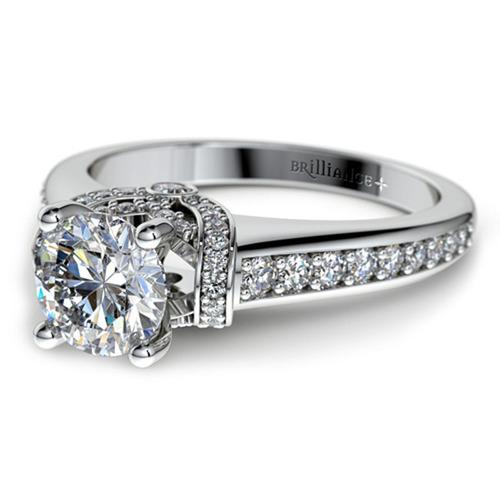 Brilliance Custom Ring.  (PRNewsFoto/Brilliance.com)