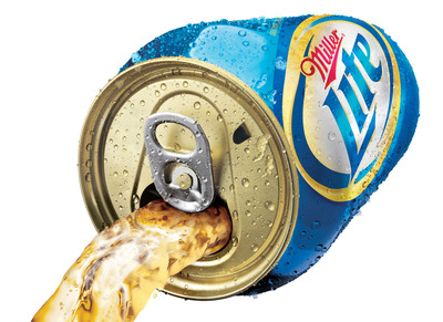 Miller Lite Punch Top Can
