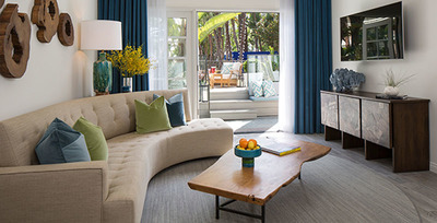 Bungalow One Suite (PRNewsFoto/Robb Report)