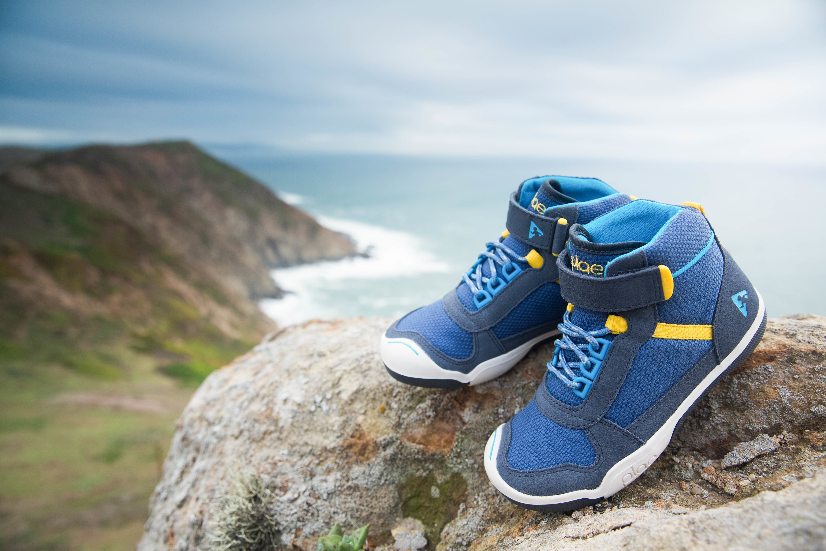PLAE's new Kaiden shoe combines the sleek look of a hi-top with the durability of a waterproof hiking boot.