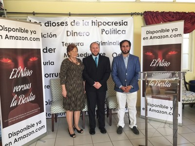 From left to right:  Antonia Beniquez (biological mother of Samuel Beniquez); Samuel Beniquez (biological son of Aaron) and Samuel Ortiz.