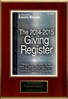 "Reach Out Recovery Selected For ""The 2014-2015 Giving Register"""
