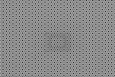 Hexagonal pattern with 300-nm hole diameter generated by PHABLE.  (PRNewsFoto/EV Group)