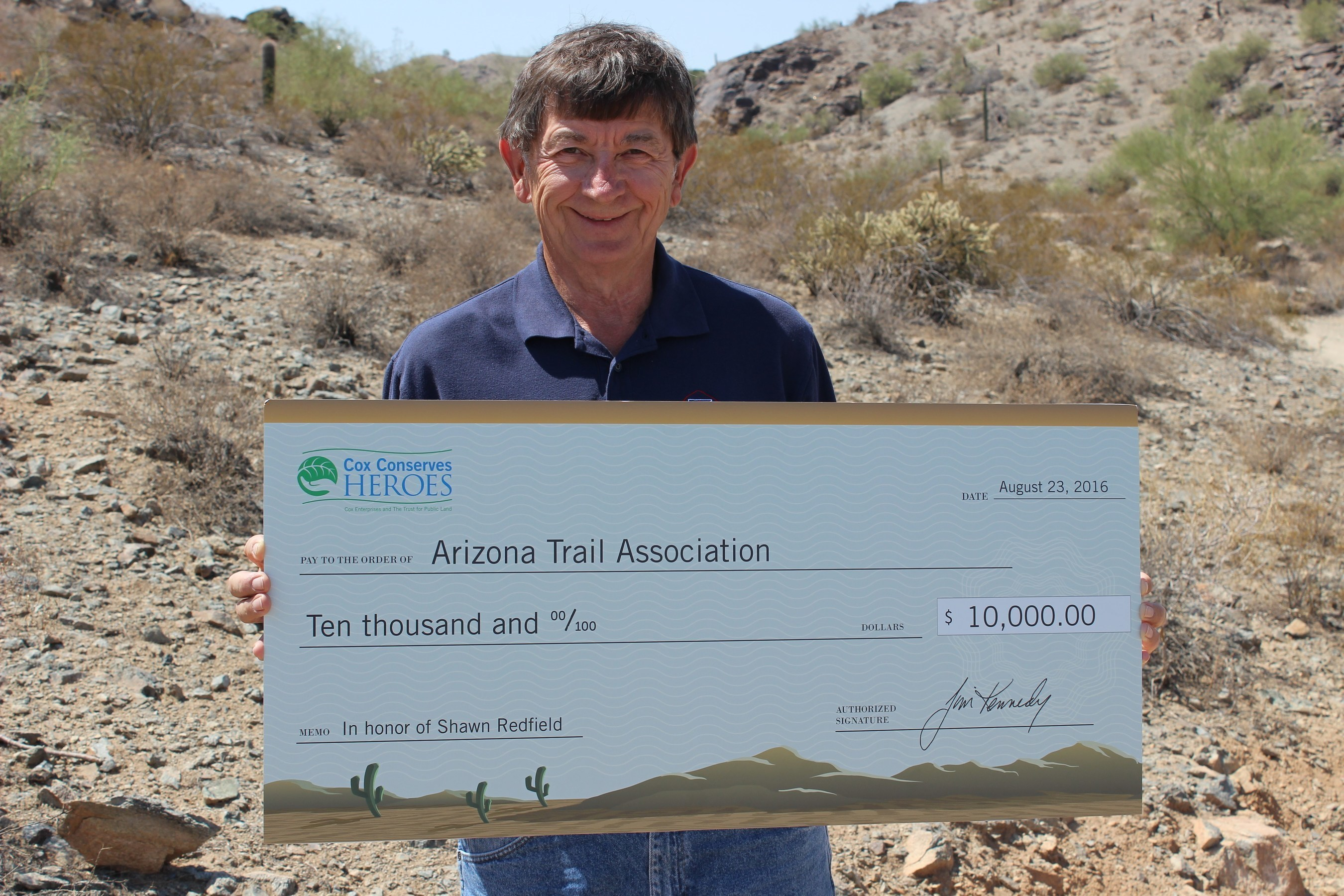 Cox and The Trust for Public Land Name Shawn Redfield as Arizona's 2016 Cox Conserves Hero