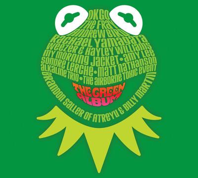 Muppets: The Green Album from Walt Disney Records.  (PRNewsFoto/Walt Disney Records)