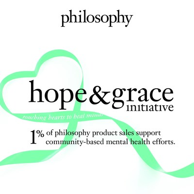 philosophy Launches The Hope & Grace Initiative in Support of Mental Health and Wellbeing