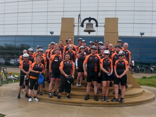 The CITGO Lemont Refinery Team celebrates another successful Bike MS race.  (PRNewsFoto/CITGO)