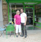 Owners Kimberlee and Joseph Thomas, opened The Chill Factory frozen yogurt shop in Batesville, AR, with help from an EDP loan and grant from First Community Bank and FHLB Dallas.