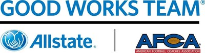 Allstate AFCA Good Works Team(R) (PRNewsFoto/Allstate Insurance Company)