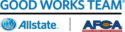 Allstate AFCA Good Works Team(R) (PRNewsFoto/Allstate Insurance Company)
