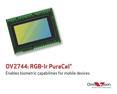 OmniVision's new OV2744 brings biometric capabilities for mobile devices.