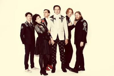 Arcade Fire. Photo Credit: Guy Aroch.  (PRNewsFoto/Live Nation)