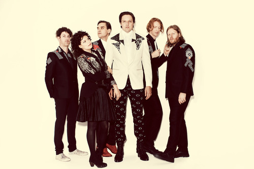Arcade Fire. Photo Credit: Guy Aroch.  (PRNewsFoto/Live Nation)