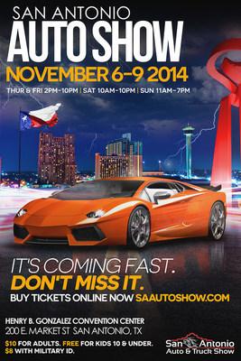 2014 San Antonio Auto & Truck Show creative (PRNewsFoto/San Antonio Auto & Truck Show)
