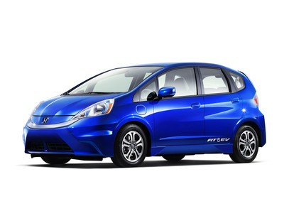 2013 Honda Fit EV Receives Highest Fuel Efficiency Rating Ever Given by EPA.  (PRNewsFoto/American Honda Motor Co.)