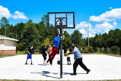 Basketball Cop Foundation Court