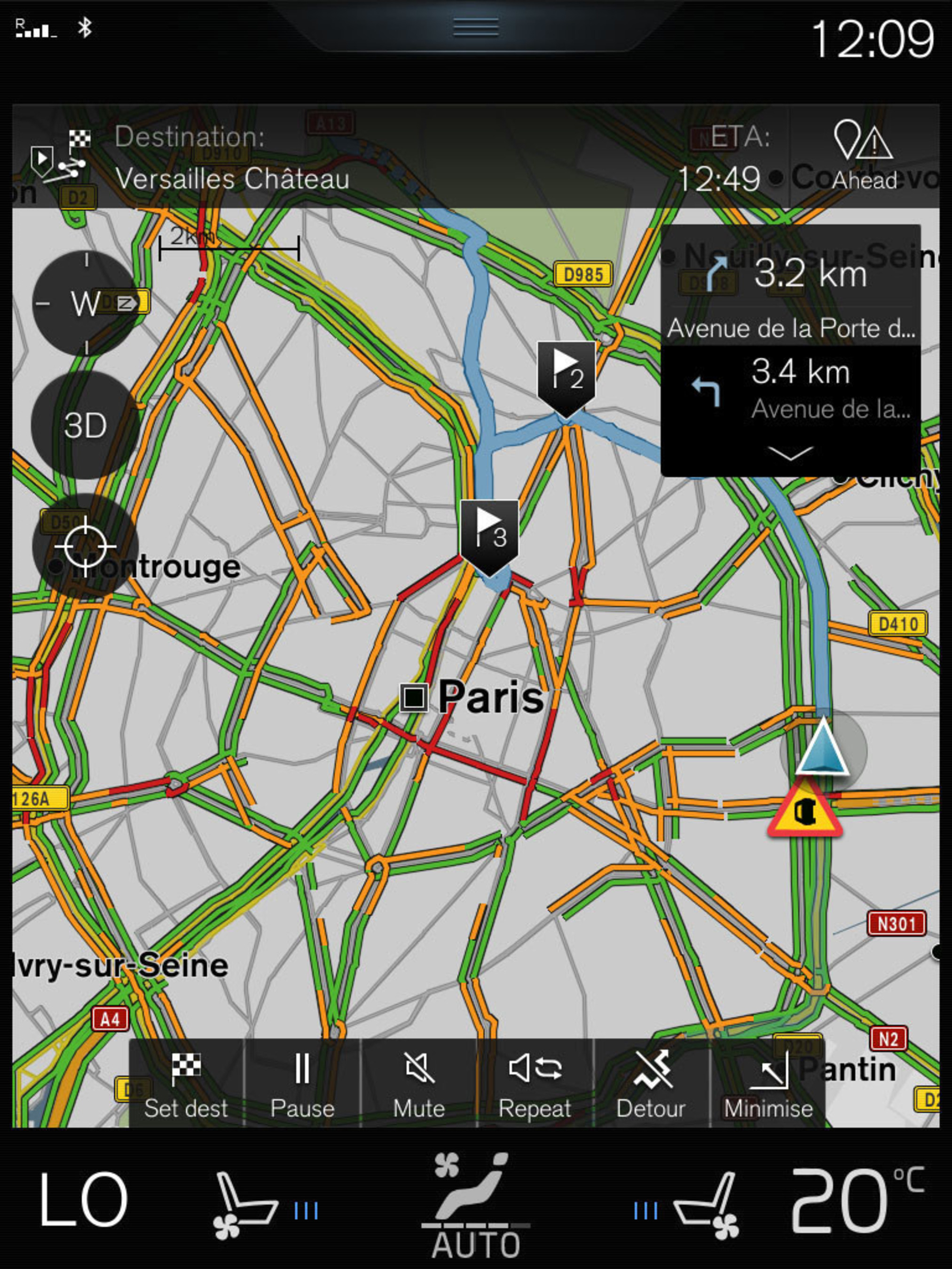 INRIX And Volvo Cars Debut Global Collaboration For Real-Time Traffic Information