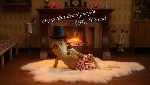 Mr. Peanut Is Declaring His Love For Hearts With Planters Heart Healthy Peanuts