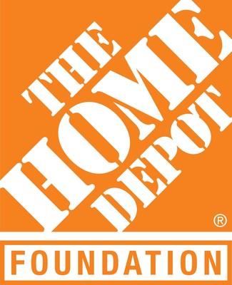 The Home Depot Foundation logo.