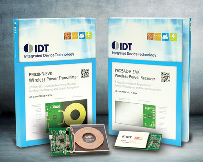 Finalists Selected for Contest Seeking Novel Applications for IDT's Wireless Power Kits