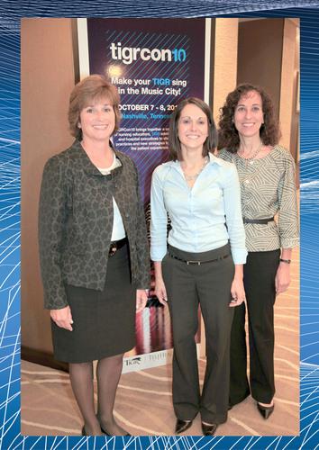 TeleHealth Services' TIGR Super Users (l to r) Michelle Heacox, Johns Hopkins Medical Center, Jodi ...
