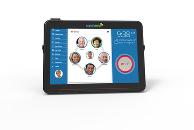 MobileHelp Unveils Future of Medical Alert Systems with Its Newest 4G LTE Cellular Base Station Design. The new Touch Screen Format and Cellular Connectivity Allows for Video Chats - Without the Need for an In-Home Phone Line or Network Connection.