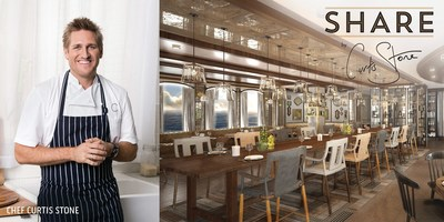 The SHARE video series featuring Chef Curtis Stone can be viewed at www.princess.com/curtisstoneshares.