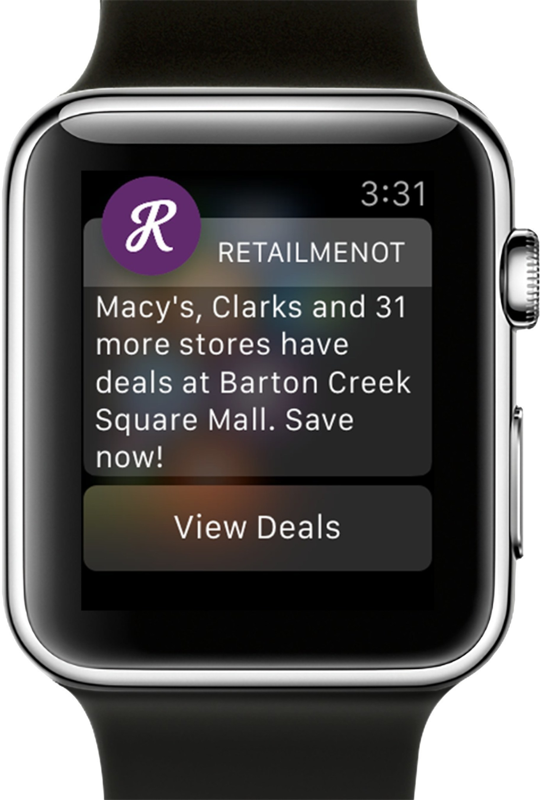 Nearby Savings Available at the Tap of Your Wrist: Introducing the RetailMeNot Apple Watch App!