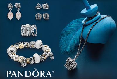 PANDORA Gives Women the Royal Treatment.  (PRNewsFoto/PANDORA Jewelry)