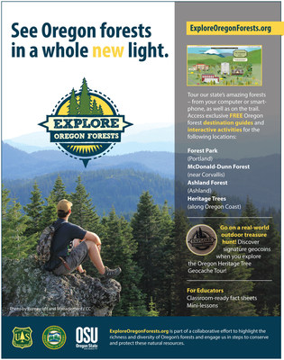 ExploreOregonForests.org is part of a collaborative effort to highlight the richness and diversity of Oregon's forests and engage us in steps to conserve and protect these natural resources.