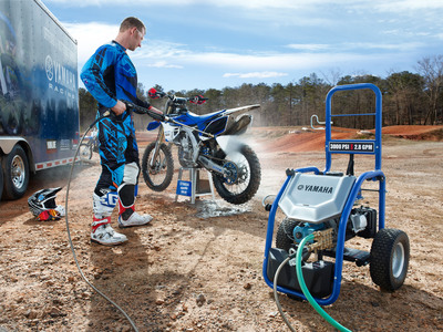 The all-new PW3028 Pressure Washer has Yamaha performance and quality.  (PRNewsFoto/Yamaha Motor Corp., U.S.A.)