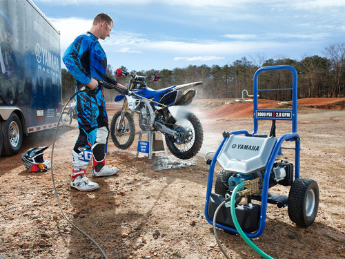 Yamaha Introduces New Pressure Washer