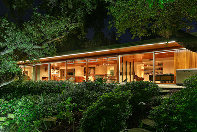 Richard Neutra's 1951 Goldman Residence in the prime Royal Oaks section of Encino has been listed by Aaron Kirman, President of the Aaroe Estates division of John Aaroe Group.