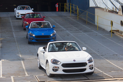 All-new 2017 Fiat 124 Spider arrives in the U.S.