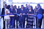 Marriott Executive Apartments Addis Opens with President Mulatu Teshome cutting the ribbon
