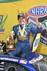 Ron Capps drives 2015 Mopar Dodge Charger R/T to win at NHRA SpringNationals