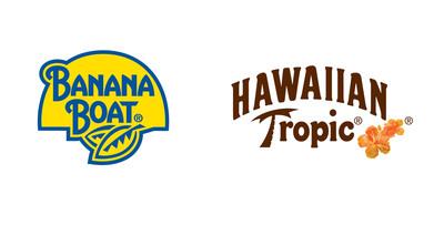 Banana Boat(R) and Hawaiian Tropic(R) Logos