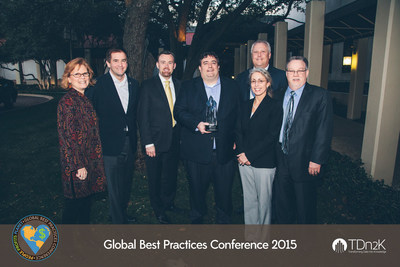 White Castle's receipt of the Diamond Catalyst Award from Transforming Data into Knowledge (TDn2K)