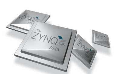 Xilinx announces full production of its entire Zynq(TM)-7000 All Programmable SoC family.  (PRNewsFoto/Xilinx, Inc.)