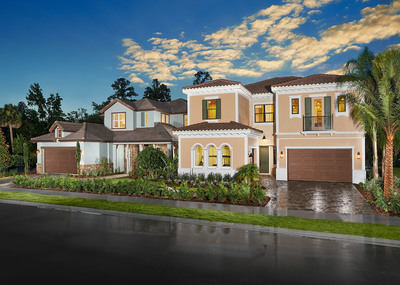 Standard Pacific Homes announces this weekend's grand opening of a private, golf course community in Orlando called The Reserve at Alaqua. For more information, visit www.standardpacifichomes.com (PRNewsFoto/Standard Pacific Homes)