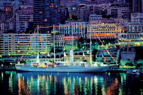 Windstar Cruises in Monte Carlo.  (PRNewsFoto/Windstar Cruises)