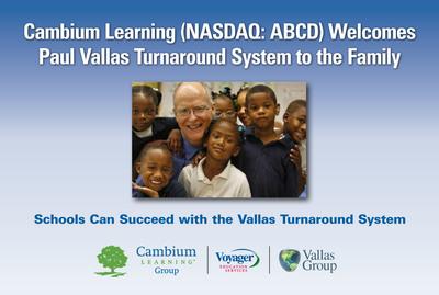 Delivering Global School Improvement that Works. www.vallasturnaround.com