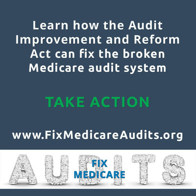 The American Association for Homecare (AAHomecare) is proud to announce the introduction of a new piece of legislation to fix the broken Medicare audit system. The Audit Improvement and Reform Act (AIR Act), sponsored by Reps. Renee Ellmers (R-N.C.) and John Barrow (D-Ga.), will increase transparency, education and outreach, and reward suppliers that have low error rates on audited claims. (PRNewsFoto/American Association for Home...)