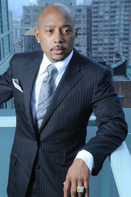 "Daymond John, founder of FUBU clothing, best-selling author, and Shark Tank reality TV judge, is delivering a talk on ""From Humble Beginnings to Self-Made Multimillionaire"" to 2,000 small businesses at InfusionCon 2013 in Scottsdale, Ariz."