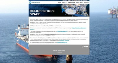 "The cloud-based Jive community, ""HeliOffshore Space,"" brings key stakeholders together from across the worldwide offshore helicopter ecosystem to collaborate on critical safety initiatives."