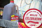 On National Iced Tea Day, Milo's is thanking its fans all day with giveaways on their social media accounts.