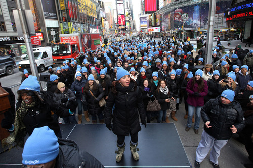 Charmin® Sets in Motion Fancy Footwork in New York City to Break Guinness World Records™ for