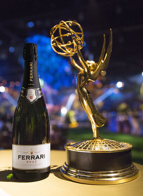 Ferrari Trentodoc Sparkles as the Official Sparkling Wine of the 68th Annual Emmy Awards - view all photos at http://bit.ly/FerrariEmmysPhotos