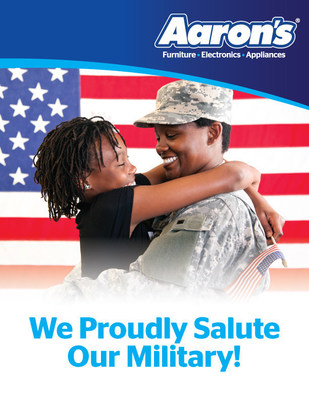 Aaron s  Inc    AAN   a leader in the sales and lease. Aaron s Salutes Military Families with 11 Veterans Day Room