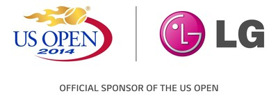 LG Electronics serves up interactive fan experiences at 2014 US Open (PRNewsFoto/LG Electronics USA, Inc.)